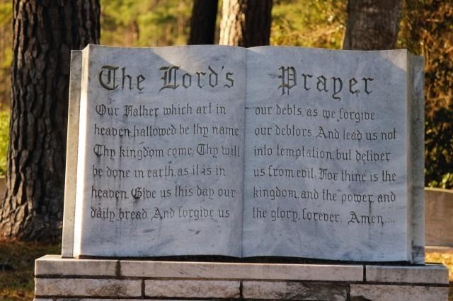 lords-prayer-statue