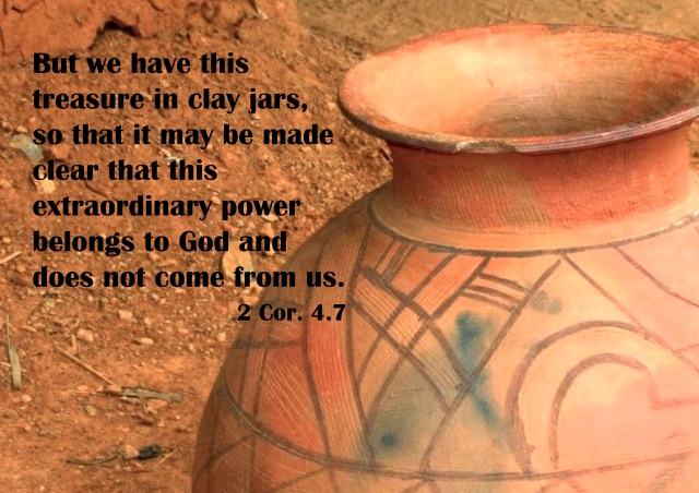 Treasure in clay jars image